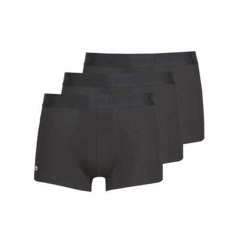 Fehérnemű Férfi Boxerek Lacoste 5H3407-031 Fekete