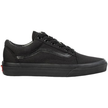 Cipők Férfi Rövid szárú edzőcipők Vans Old Skool Czarne