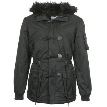Ruhák Férfi Parka kabátok Eleven Paris MAURIZ Fekete