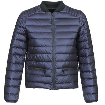 Ruhák Női Steppelt kabátok Eleven Paris FASTOCH Tengerész