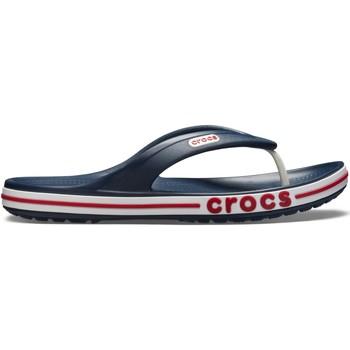 Cipők Férfi Lábujjközös papucsok Crocs Crocs™ Bayaband Flip Navy/Pepper