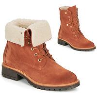Cipők Női Csizmák André BALADE Narancssárga
