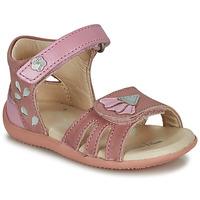 Cipők Lány Szandálok / Saruk Kickers BICHETTA Rózsaszín