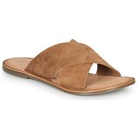 Cipők Női Papucsok Kickers DIAZ-2 Teve