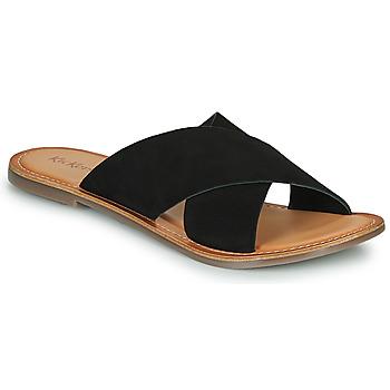 Cipők Női Papucsok Kickers DIAZ-2 Fekete