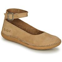 Cipők Női Balerina cipők  Kickers HONNORA Bézs