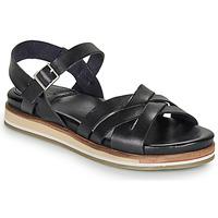 Cipők Női Szandálok / Saruk Kickers OLIMPIK Fekete