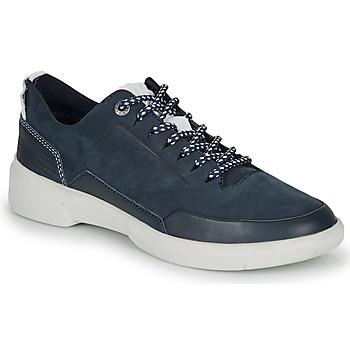 Cipők Női Rövid szárú edzőcipők Kickers ORUKAMI Tengerész