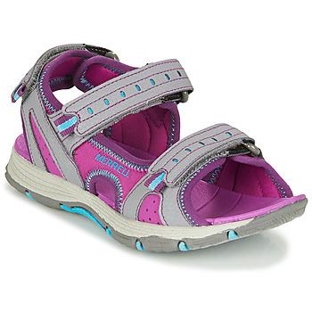 Cipők Lány Sportszandálok Merrell PANTHER SANDAL 2.0 Rózsaszín / Szürke
