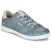 Cipők Női Rövid szárú edzőcipők Mustang 1349301-875 Kék