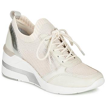 Cipők Női Rövid szárú edzőcipők Mustang 1303303-203 Fehér