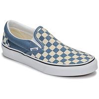 Cipők Belebújós cipők Vans CLASSIC SLIP-ON Kék / Fehér