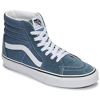 Cipők Magas szárú edzőcipők Vans SK8-HI Kék
