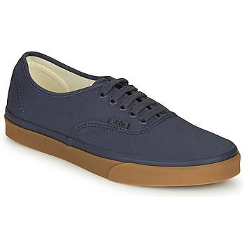 Cipők Férfi Rövid szárú edzőcipők Vans Authentic Tengerész