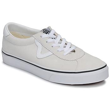 Cipők Rövid szárú edzőcipők Vans VANS SPORT Fehér