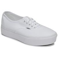 Cipők Női Rövid szárú edzőcipők Vans AUTHENTIC PLATFORM 2.0 Fehér