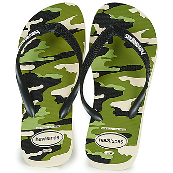 Cipők Férfi Lábujjközös papucsok Havaianas TOP CAMU Zöld