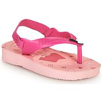 Cipők Lány Lábujjközös papucsok Havaianas BABY DISNEY CLASSICS II Rózsaszín