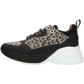 Cipők Női Rövid szárú edzőcipők Alexander Smith S73696 Gray and Black