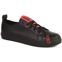Cipők Női Rövid szárú edzőcipők Big Star INT1222B Czarne