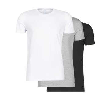 Ruhák Férfi Rövid ujjú pólók Polo Ralph Lauren WHITE/BLACK/ANDOVER HTHR pack de