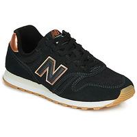 Cipők Női Rövid szárú edzőcipők New Balance 373 Fekete
