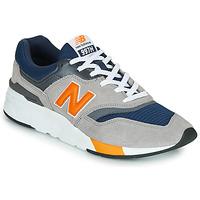 Cipők Rövid szárú edzőcipők New Balance 997 Sötétkék / Szürke / Narancssárga