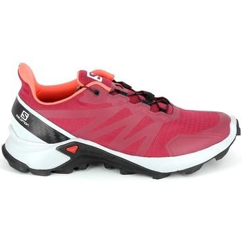 Cipők Túracipők Salomon Supercross Cerise Piros