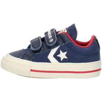 Cipők Fiú Rövid szárú edzőcipők Converse 762767C Blue