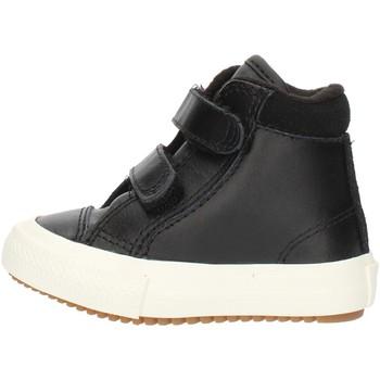 Cipők Fiú Magas szárú edzőcipők Converse 76198 Black