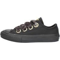 Cipők Lány Rövid szárú edzőcipők Converse 661878 Black