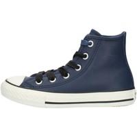 Cipők Fiú Magas szárú edzőcipők Converse 662809C Blue