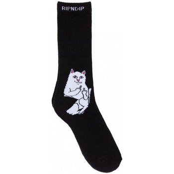 Textil kiegészítők Férfi Zoknik Ripndip Lord nermal socks Fekete