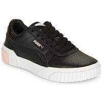 Cipők Lány Rövid szárú edzőcipők Puma CALI Fekete