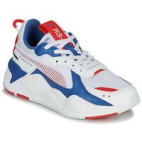 Cipők Gyerek Rövid szárú edzőcipők Puma RS-X Fehér / Kék / Piros