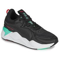 Cipők Férfi Rövid szárú edzőcipők Puma RS-X Fekete  / Fehér