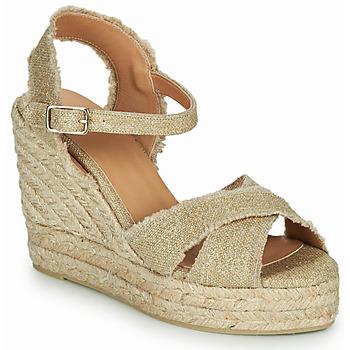 Cipők Női Szandálok / Saruk Castaner BROMELIA Arany