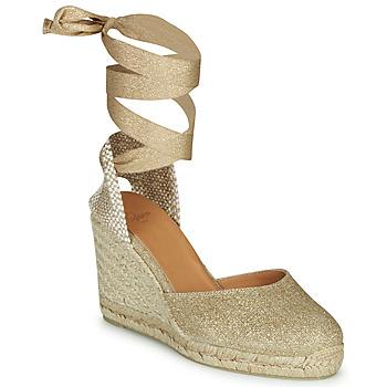 Cipők Női Szandálok / Saruk Castaner CARINA Arany