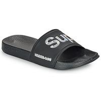 Cipők Női strandpapucsok Superdry HOLO INFIL POOL SLIDE Fekete