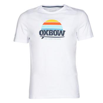 Ruhák Férfi Rövid ujjú pólók Oxbow M1TEKSO Fehér