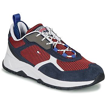Cipők Férfi Rövid szárú edzőcipők Tommy Hilfiger FASHION MIX SNEAKER Kék