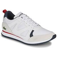 Cipők Férfi Rövid szárú edzőcipők Lacoste AESTHET 120 2 SMA Fehér / Kék / Piros
