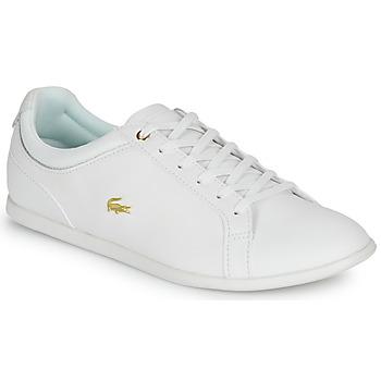 Cipők Női Rövid szárú edzőcipők Lacoste REY LACE 120 1 CFA Fehér / Arany