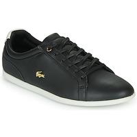 Cipők Női Rövid szárú edzőcipők Lacoste REY LACE 120 1 CFA Fekete  / Fehér