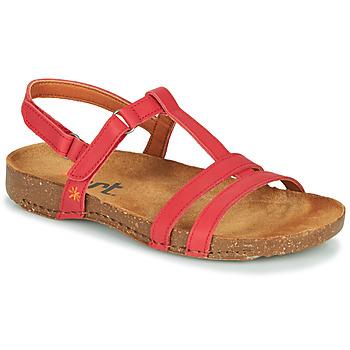 Cipők Női Szandálok / Saruk Art I BREATHE Piros