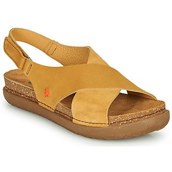 Cipők Női Szandálok / Saruk Art RHODES Mustár sárga