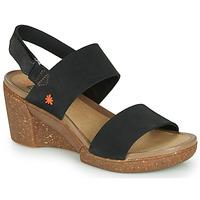 Cipők Női Szandálok / Saruk Art ROTTERDAM Fekete