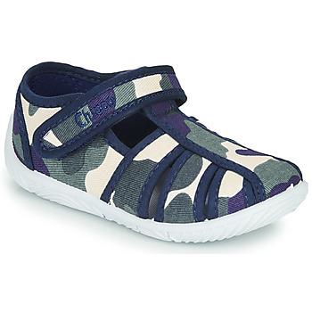 Cipők Fiú Mamuszok Chicco TULLIO Kék / Fehér