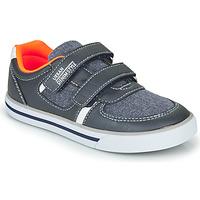 Cipők Fiú Rövid szárú edzőcipők Chicco FREDERIC Kék / Narancssárga