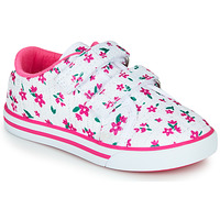 Cipők Lány Rövid szárú edzőcipők Chicco FRANCY Fehér / Rózsaszín